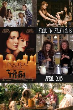 Recipes inspired by the movie Practical Magic by #FoodnFlix bloggers