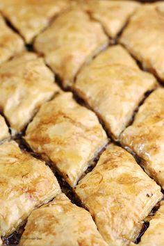 Yummy Recipes, Greek Recipes, Dessert Recipes, Cooking Recipes, Yummy Food, Phyllo Recipes, Lebanese Recipes, Greek Desserts, Just Desserts