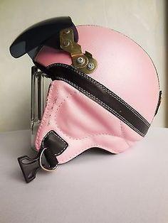 """Motorrad Helm / braincap mit Brille für Damen Gr. S """""""" rosa """""""""""""""