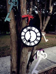 Alice In Wonderland Wedding Decoration/PropJumbo by windrosie
