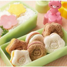 Stamp Nuki Gata Cutter ~ Kawaii Sandwich Cutters