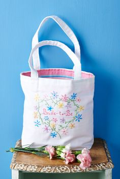 This bride-to-be bag is perfect for hen gifts! Learn to make it in Sew magazine (Sew magazine, June, issue 60)