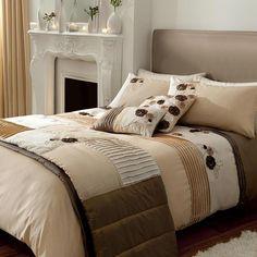 Coffee color bedding sheet