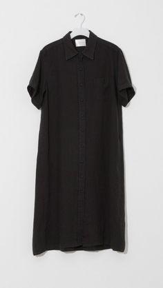 Linen Shirt Dress by Moderne