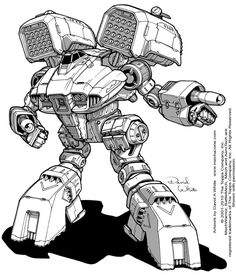 "Artwork created for Catalyst Games' ""Golden Century"" Battletech book/PDF."