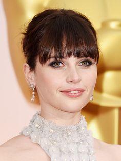 Felicity Jones At The Academy Awards — Bold, Dark Eyes At TheOscars