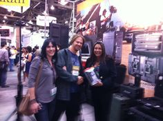 Day 2 winner of our NAB giveaway. Our lucky winner won a Pelican 1055cc Hardback and a new Kindle eReader.