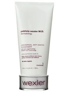 Patricia Wexler M. Dermatology Acnescription Exfoliating Cleanser with Acnostat Skin Clearing Complex Serum, Cleanser For Oily Skin, Acne Cream, Clear Skin Tips, Best Anti Aging Creams, Skin Care Treatments, Spot Treatment, Acne Treatment, Skin Care Regimen