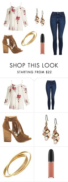 """Casual is in style"" by cute-outfits25 on Polyvore featuring Joie, Topshop, Chinese Laundry, Lucky Brand, Cartier and MAC Cosmetics"