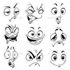 Comic-Augen - - Source by Cartoon Cartoon, Cartoon Kunst, Drawing Cartoon Characters, Graffiti Characters, Character Drawing, Cartoon Drawings, Drawing Sketches, Sketch Art, Art Drawings