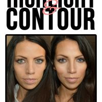 How to: Highlight and Contour makeup tutorial