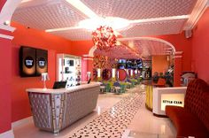 Europe has the most colorful salons!