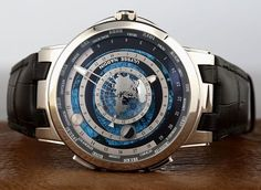 @Ulyssenardinofficials newest astronomical Executive Moonstruck Worldtimer is here. The watch features a rotating sun and moon disc a fixed Earth disc of the northern hemisphere and hour minute and date hands. Thoughts?  Via: @RobbReportWatchcollector via ROBB REPORT MAGAZINE OFFICIAL INSTAGRAM - Luxury  Lifestyle  Style  Travel  Tech  Gadgets  Jewelry  Cars  Aviation  Entertainment  Boating  Yachts