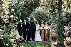 Magnolia Plantation wedding featuring a Stella York dress