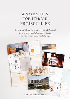 3 More Tips For Hybrid Project Life