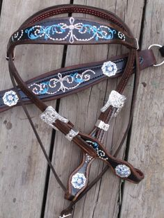 Flourish & Cross Tack Set | The Cowboy Junkie