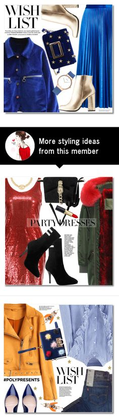 """#PolyPresents: Wish List"" by svijetlana on Polyvore featuring MSGM, Bamboo, contestentry and polyPresents"