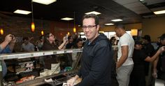 Ex-Subway pitchman Jared Fogle has a new job in his prison's cafeteria — and his chief duty is dishing out sandwiches.