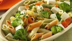 Salada de macarrão light para o verão!!!  :)