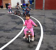 Grace Lutheran School, Huntington Beach annal preschool Trike-A-Thon rocks!