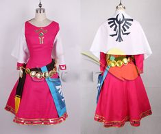 The Legend of Zelda Skyward Sword Zelda Women Cosplay Dress/Princess Zelda Costume Christmas Adult Kids Costumes Custom-in Clothing from Novelty & Special Use on Aliexpress.com | Alibaba Group