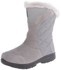 Best Boots For Women | Columbia Womens Ice Maiden II Slip Winter Boot Light GreySiberia 9 M US >>> Click image for more details. Note:It is Affiliate Link to Amazon.