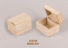 Ξύλινα κουτιά άβαφα για χειροτεχνία & μπομπονιέρες | bombonieres.com.gr