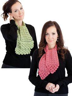 Crocodile Stitch Scarves Crochet Pattern  Need to find a free pattern for this.