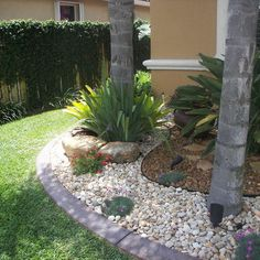 landscaping with rocks and plants - Google Search