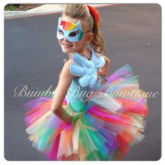 Dashing beauty ...rainbow dash inspired tutu by bumblebugbowtique #mylittlepony #kidsparties #cosplay