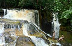 Presidente Figueiredo, cidade do estado do Amazonas, Brasil, tem 159 cachoeiras nas zonas urbana e rural do município. Fotografia: Girlene Medeiros/G1 AM.