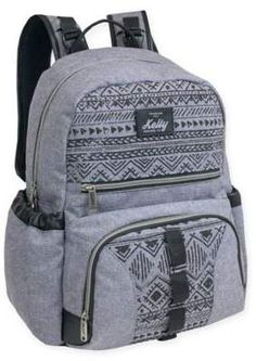 Daisy Chain Backpack Diaper Bag in Grey #chic#adds#style