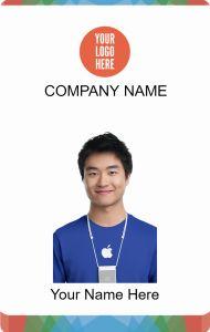 ID Card Himpunan Mahasiswa | ID Card Design | Pinterest | Cards