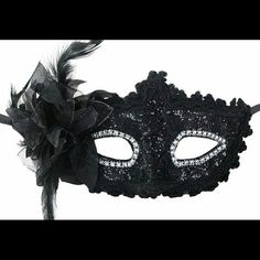 Men Women Couple Black Collection B12 Venetian Masquerade Metal Ball Party Mask