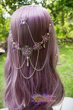 Pearled Waterlily Princess Circlet by BlingGoddessBoutique on Etsy, $149.00