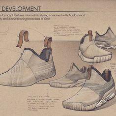 Wishbone concept development sketches.