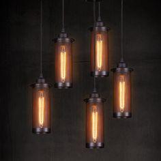Retro Edison Style Loft Industrial Light Vintage Lamp Pendant Lights Fixtures Lampen Hanging Lamp Suspension Luminaire