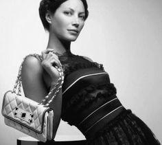 4e8531964611cb East West bag - Spring 2008 - Christy Linda Evangelista, Chanel Spring,  Chanel Boy