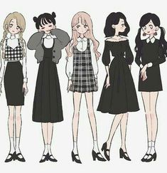 Stylish Outfit Ideas Drawing You Should Already Own outfit ideas drawing, Drawings Cute Art Styles, Cartoon Art Styles, Fashion Design Drawings, Fashion Sketches, Character Outfits, Character Art, Kawaii, Anime Outfits, Cute Outfits