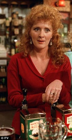 """Born: March 28th 1957 ~ Beverley Jane """"Bev"""" McEwan is an English actress, known for her roles as June Dewhurst and Liz McDonald in ITV's Coronation Street, plus Flo Henshaw on BBC Three's Two Pints of Lager and a Packet of Crisps."""