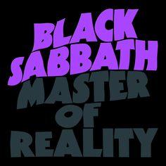Black Sabbath - Master of Reality (CD Cover)