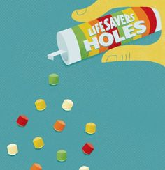 Lifesavers Holes ~ these were AWESOME