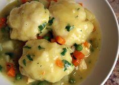 This is the one! Winner, winner, Chicken and Dumplings for dinner.