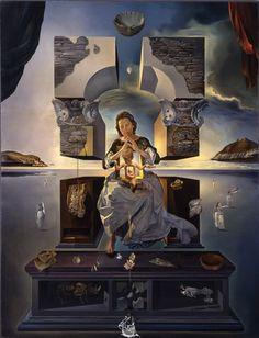 「ポルト・リガトの聖母」1950年 福岡市美術館所蔵