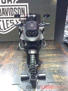 Harley Davidson 750 Stealth at 2016 Bangkok Motor Show