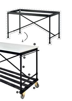 Using IKEA's KARPALUND base get the step-by-step instructions here. - Style at Home. 6 neat Ikea hacks