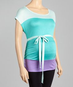 Love the bow. #maternity #zulily #zulilyfinds