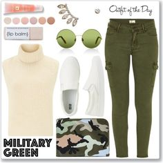Attention! Go Army Green
