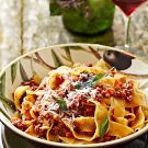 Try the Pappardelle with Bolognese Sauce Recipe on williams-sonoma.com