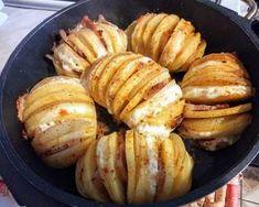 Cookpad - A legjobb hely a receptjeid számára! Actifry, Baked Potato, Food And Drink, Potatoes, Chips, Baking, Vegetables, Breakfast, Health